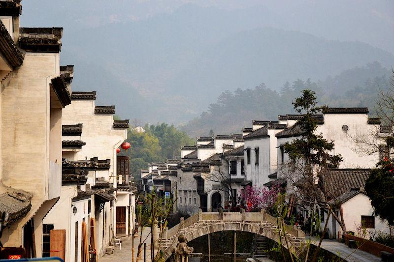 Anhui, water town