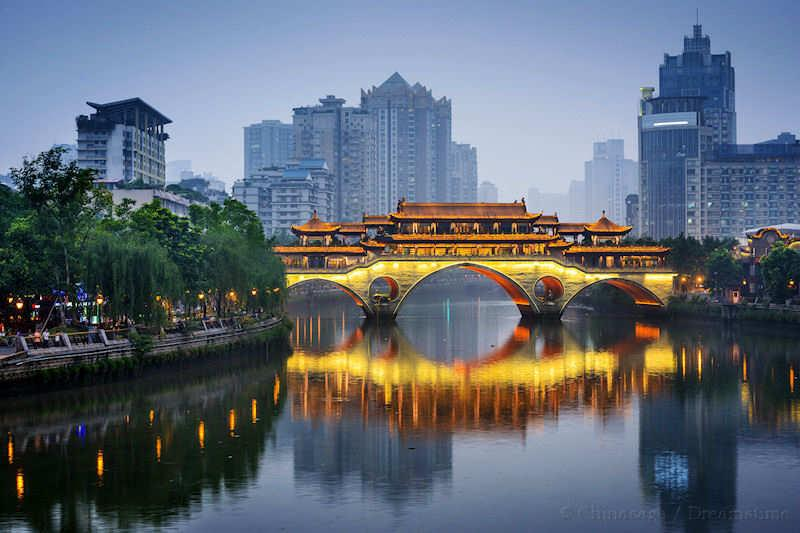 Chengdu, Sichuan, bridge