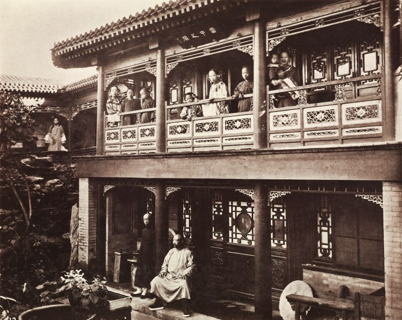 house, Qing dynasty, family