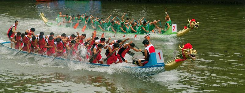 Dragon boat festival, people