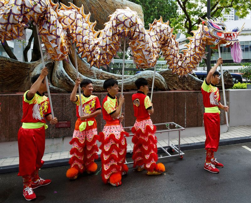 dragon dance,  dance