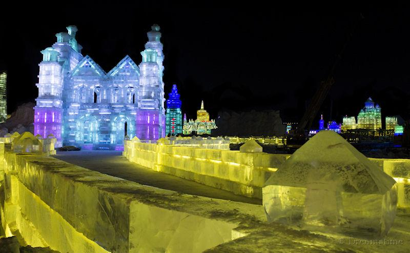 Heilongjiang, ice sculpture, Harbin