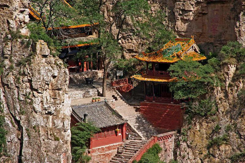 Shanxi, temple, mountains