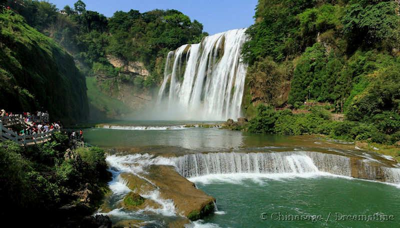 Guizhou, waterfall