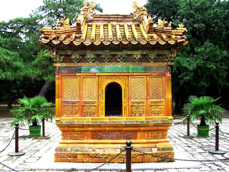 ming tombs, changling, incense burner