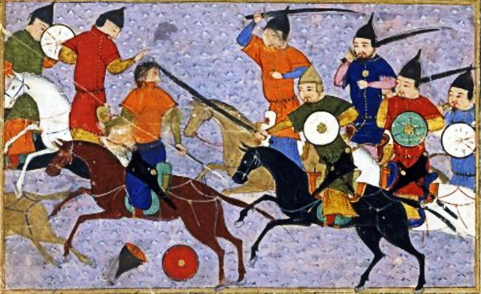 Mongol dynasty, battle