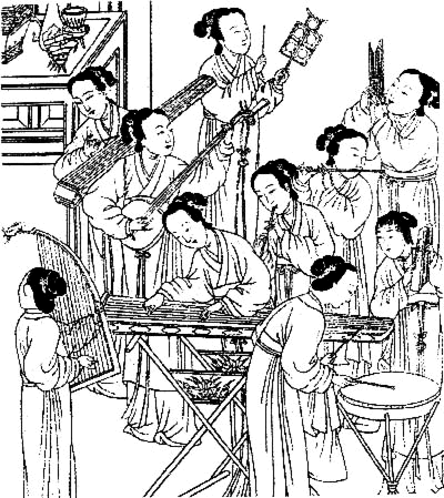 music, Ming dynasty