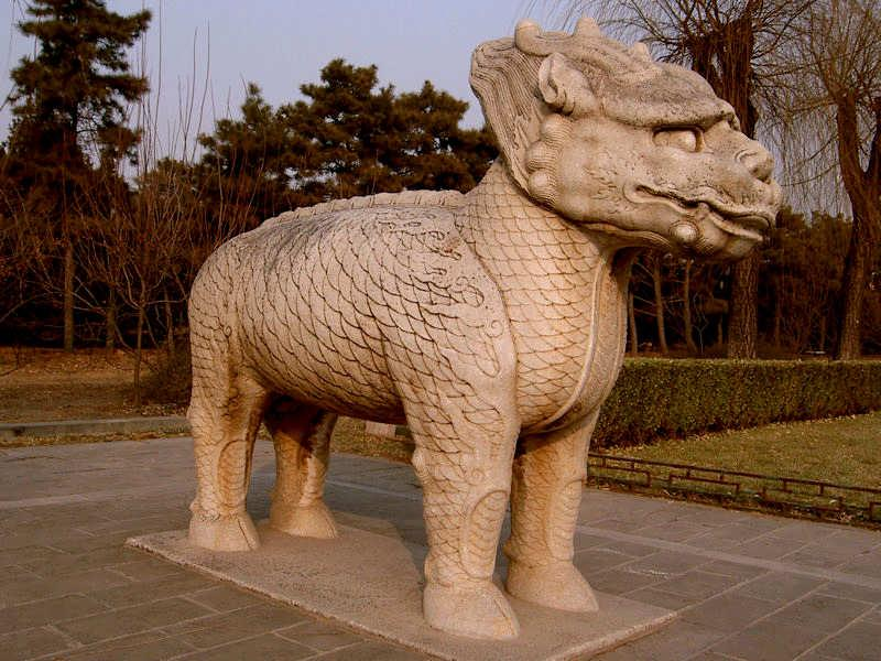 Qilin, Sacred Way, Ming tombs
