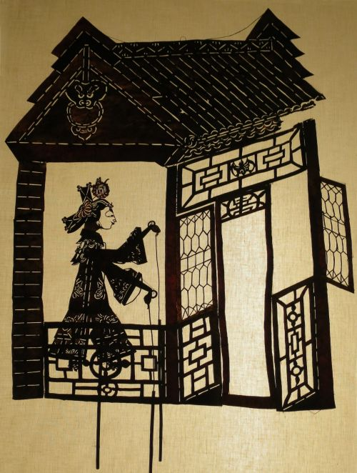 shadow puppet,  traditional art-form, customs