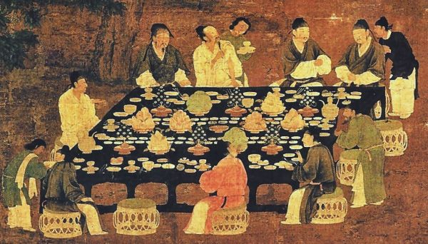 banquet, Song dynasty
