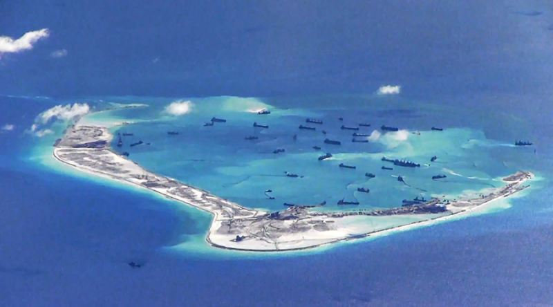 Spratly islands, South China Sea