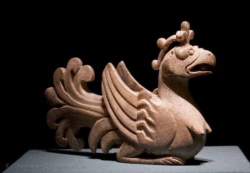 Tang dynasty, hen, sculpture
