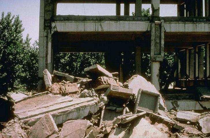Tangshan, earthquake