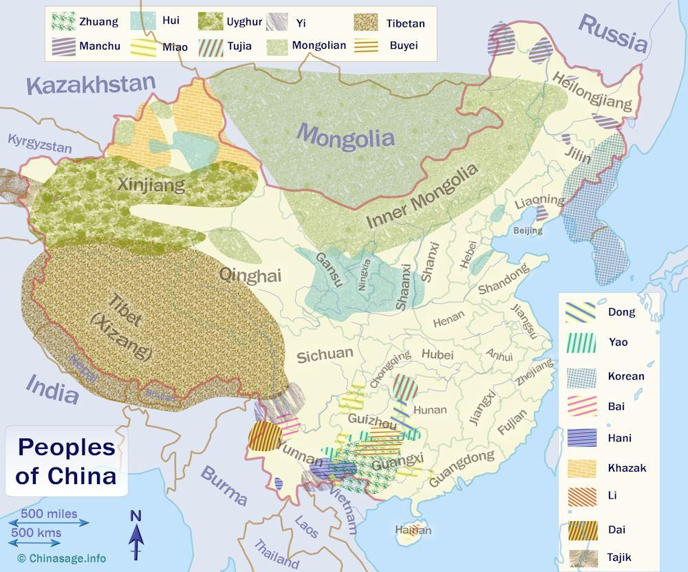 Peoples of China