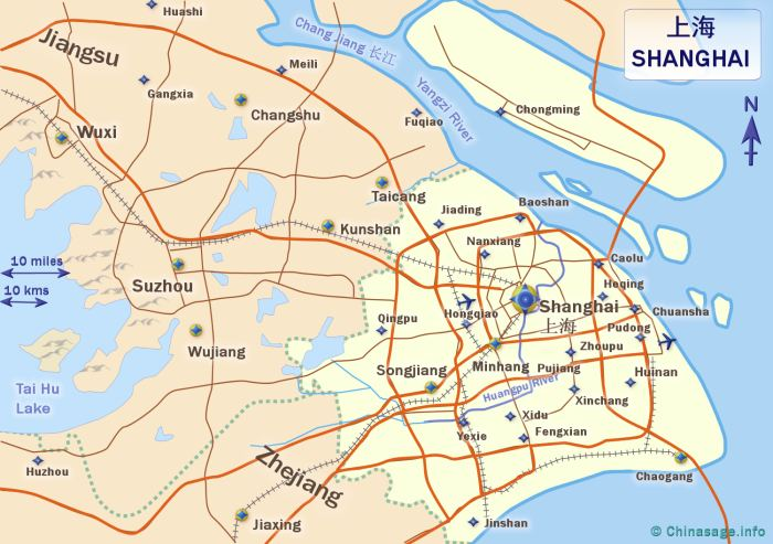 Map of Shanghai,Shanghai province map