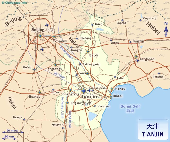 Map of Tianjin,Tianjin province map