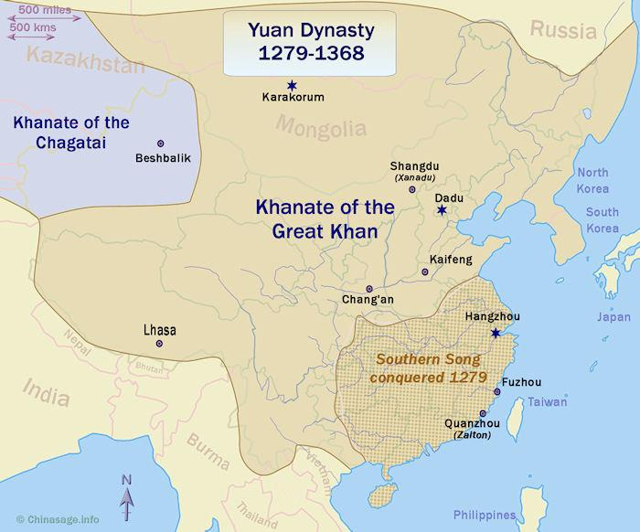 Mongol dynasty China